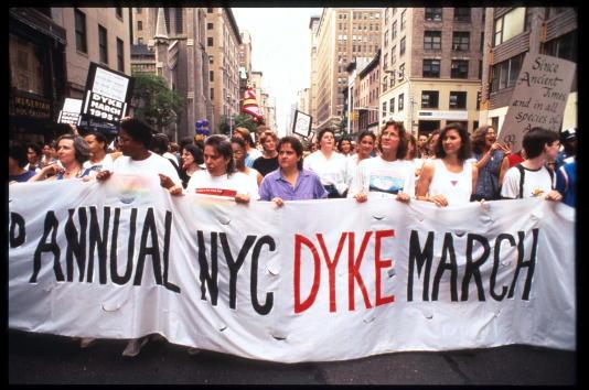 Third Annual Lesbian Pride Parade